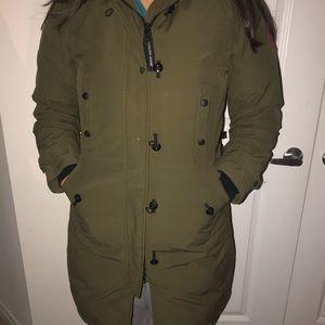 Green Canada goose jacket